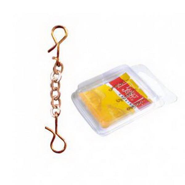Оснастка Lucky John цепочная Chains с 2 застеж. 20мм/G 3шт. (67972)Блесны<br>Цепочная оснастка предназначена для дополнительной приманки хищной рыбы. Благодаря цепочной оснастке ваши приманки не оставят равнодушной даже самую пассивную рыбу.<br>