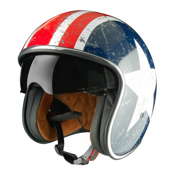 ШлемOrigine (модуляр) Solid Riviera Rebel StarглянцевыйL (81641)Шлемы и маски<br>Самый модный и продвинутый шлем в коллекции Origine. Имеет большой визор для хорошей видимости.<br>