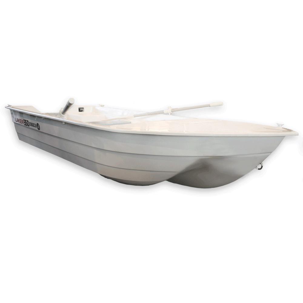 Лодка Laker T350 Белый (73908)Стеклоплаcтиковые лодки<br>Лодка имеет тримаранный киль, хорошо зарекомендовавший себя среди охотников и рыболовов.<br>