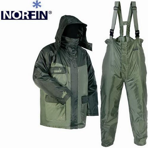 Костюм зимний Norfin THERMAL LIGHT 05 р.XXL (44041)Костюмы/комбинезоны<br>Удобный костюм из водоотталкивающего материала - необходимое приобретение для зимней рыбалки.<br>