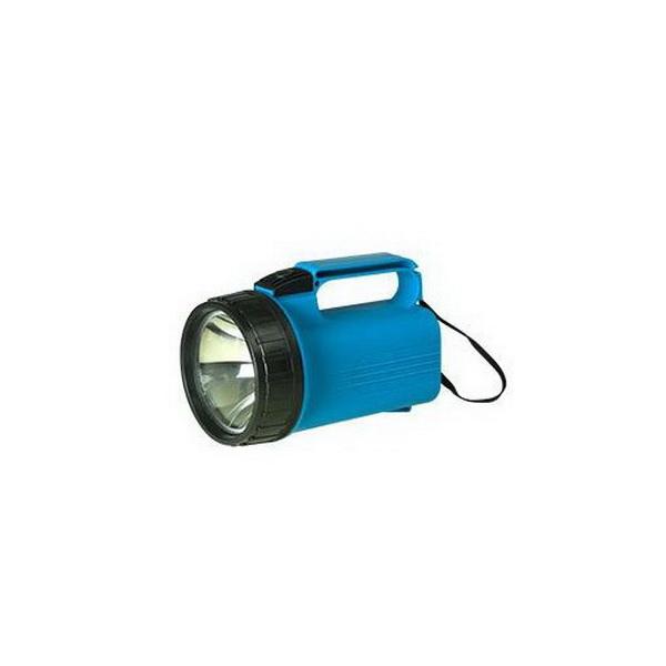 Фонарь Фaza P3-K-4DФонари ручные<br>Фонарь – прожектор из прочного ударопрочного пластика. Освещение происходит за счет криптоновой лампы, которая ярче обычной лампы накаливания на 70 %.<br>