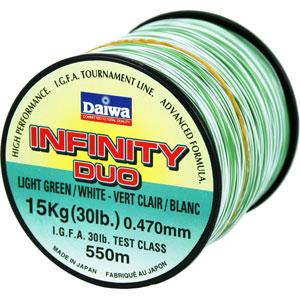 Леска Daiwa Infinity Duo 550мМонофильные лески<br><br>
