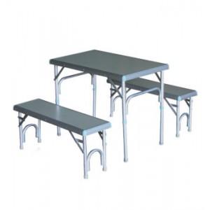 Стол GreenWay раскладной +2 скамьи+сумка 80x50x63.5 см