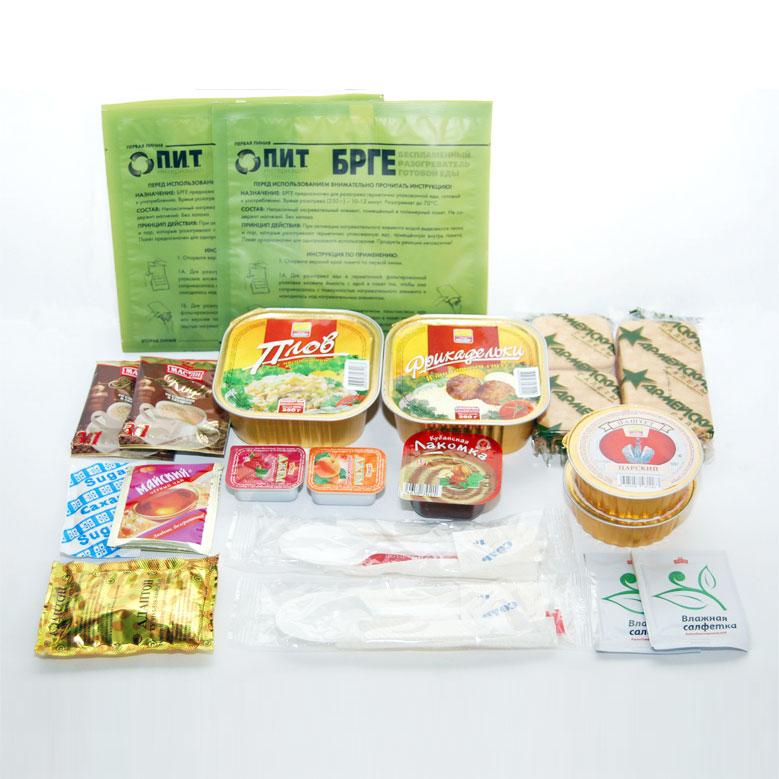Набор ПИТ индивидуальный рацион питания. Компактный (сумка)Наборы питания<br>Индивидуальный рацион питания (ИРП) с использованием Портативного беспламенного разогревателя продуктов (ПБРП) в варианте комплектации Компактный по сути является разновидностью сухпайка Повседневный (ИРП-П) . Раcсчитан на трехразовое питание: легки...<br>