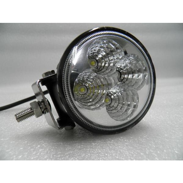 Фара DA С/Д 2009-12W spot beamСветовые приборы<br>Светодиодная фара круглой формы с креплением. Имеет 4 диодных лампы, каждая из которых работает с мощностью 3W.<br>