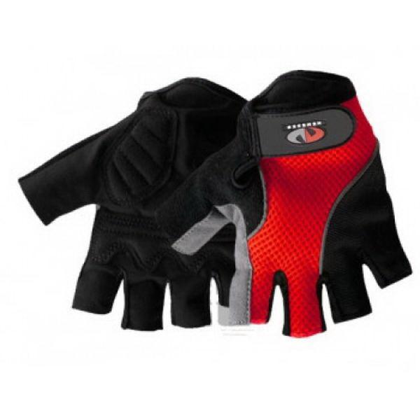 Перчатки Vega без пальцев NM-963 красн/черные  L (75296)Варежки/Перчатки<br>Легкие перчатки для мотоциклетного и велосипедного спорта. Имеют обрезанные пальцы.<br>