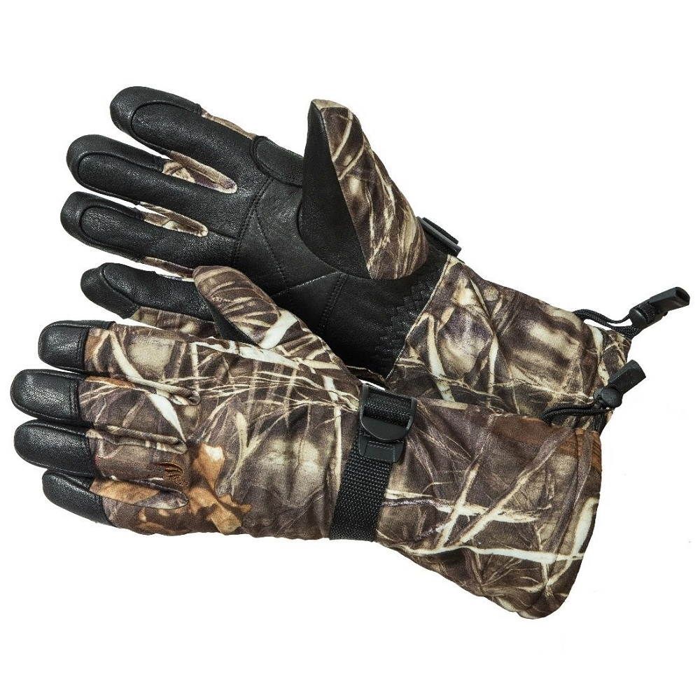 Перчатки Elementa &amp;amp;quot;Yeti&amp;amp;quot; &amp;amp;quot;Freedom&amp;amp;quot; разм.11 CL-602-11Варежки/Перчатки<br>Перчатки охотника из черной оленьей кожи с усилением на ладони,  камуфляжная ткань на перчатке, на тыльной стороне велкрозастежка.<br>