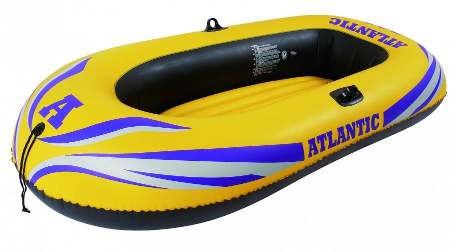 Надувная лодка Jilong Atlantic Boat 300 SET желтый