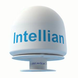 Подставка Seaview AMA-GXF для i1, i2Спутниковые антенны и крепежи<br>Низкопрофильная трёхдюймовая стойка для установки антенн спутникового телевидения Intellian i1, i2<br>