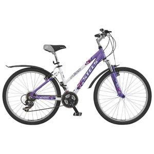 Велосипед Stels Miss-6100Велосипеды Stels<br>Горный велосипед начального уровня, предназначенный для передвижения по пересеченной местности. Отлично подойдет для повседневного использования в городских условиях. Модель сконструирована специально для девушек, имеет в основе конструкции раму с занижен...<br>
