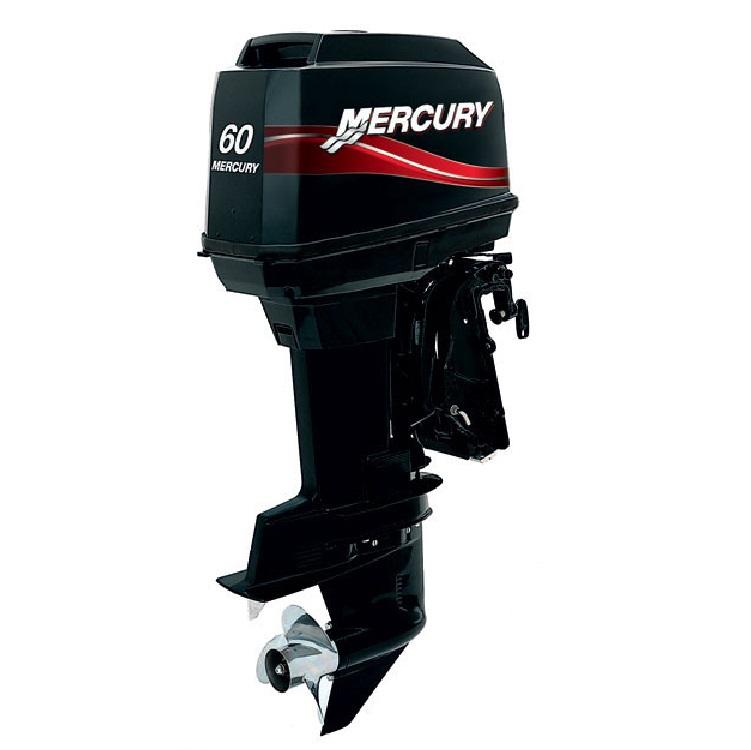 Лодочный мотор Mercury ME 60 ELPTOПодвесные моторы<br>Подвесной лодочный мотор Mercury ME 60 ELPTO - мощный 2-тактный 3-цилиндровый мотор с удлиненным  дейдвудом 508 мм и наибольшим рабочим объемом 967 см в своём классе мощности.<br>