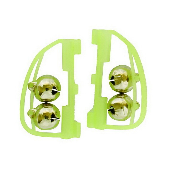 Сигнализатор Salmo поклевки пара в оправе (Бубенчик)Фидерная и карповая оснастка<br>Звуковые сигнализаторы в виде бубенчиков изготовлены специально для подачи звуковых сигналов во время поклевки рыбы. Во время поклевки осуществляется мелодичный сигнал.<br>