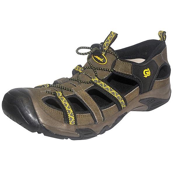 Сандалии NovaTour Трейс разм.39 цвет темно-коричневый (63330)Сандалии и сабо<br>Универсальные трекинговые сандалии с защищенным мысом и прочной подошвой. Изготовлены из комбинации кожи и замша. Надёжно фиксируют стопу. Сандалии предназначены для использования в жаркую погоду.<br>