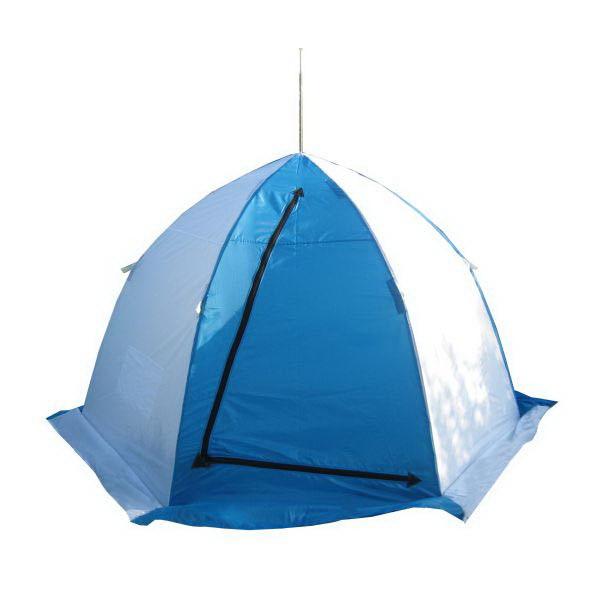 Палатка зимняя Пингвин 3 250 Х 250 Х 165Палатки для зимней рыбалки<br>Палатка разработана специально для ловли рыбы со льда в зимнее время года. Основание палатки выполнено в форме шестигранника.<br>