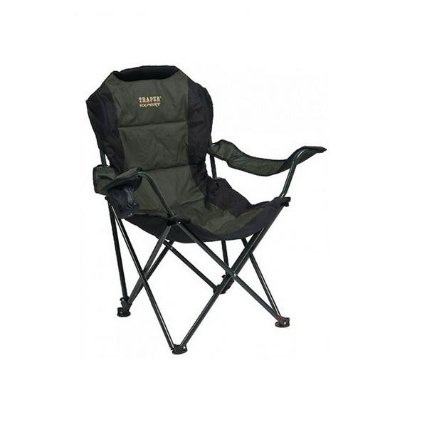 Кресло Traper рыболовное с подлокотниками Excellence ТраперСтулья, кресла складные<br>Рыболовное кресло с подлокотниками. Оно очень удобное и подходит для длительного сидения.<br>