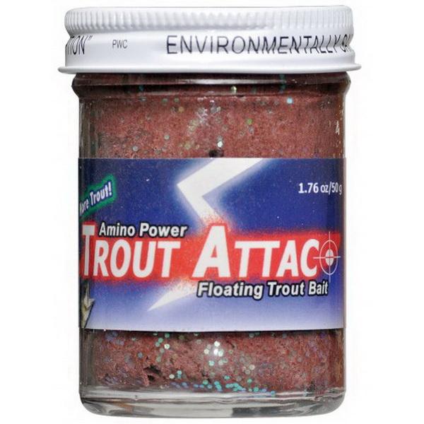 Форелевая паста Carp Zoom Trout Attac, 50g, White Flash 100505 (69145)Насадки<br>Паста представляет собой уникальный состав, плотный и упругий по консистенции. Подходит для применения во многих методах ловли и с любыми приманками.<br>