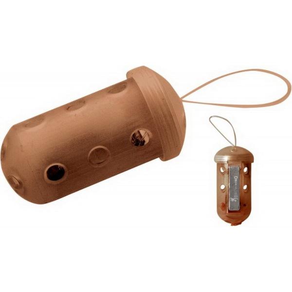 Кормушка Browning пластик с петлёй закрыт  Block End 20г бол. (57464)Фидерная и карповая оснастка<br>Пластиковая кормушка закрытого типа для летней рыбалки. Кормушка имеет овальную форму.<br>