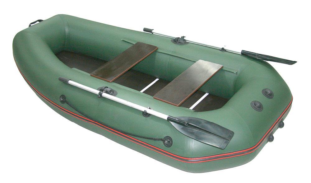 Надувная лодка Мнев Мурена MP-270 (пайола) оливковый