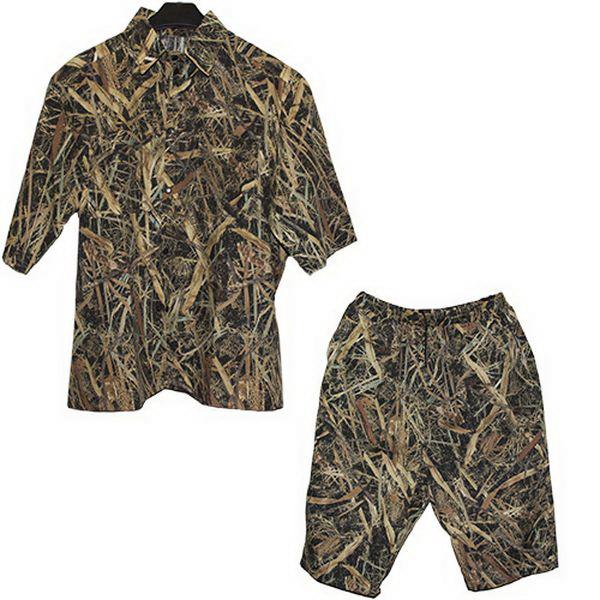 Комплект Алом-Дар Шорты+Рубашка (камыш) (р. 48-50) (64622)Брюки/шорты<br>Для любителей активного отдыха компания Алом-Дар разработала комплект шорты и рубашка. Расцветка одежды позволяет быть малозаметным на фоне окружающего ландшафта.<br>