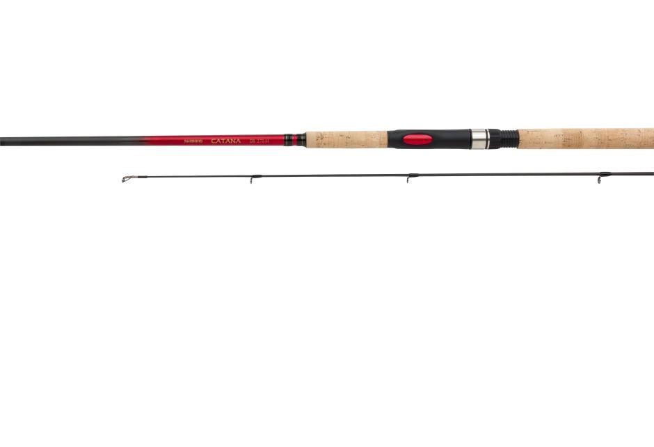 Удилище Shimano Catana Dx Spinning 270MH  (86846)Удилища спиннинговые<br>Разработчики спиннинговых удилищ серии CATANA позаботились о том, чтобы рыболов мог ловить рыбу с максимальным комфортом, и быть на 100% уверенным в том,  что любимая «палочка» не подведет в ответственный момент борьбы с рыбой.<br>