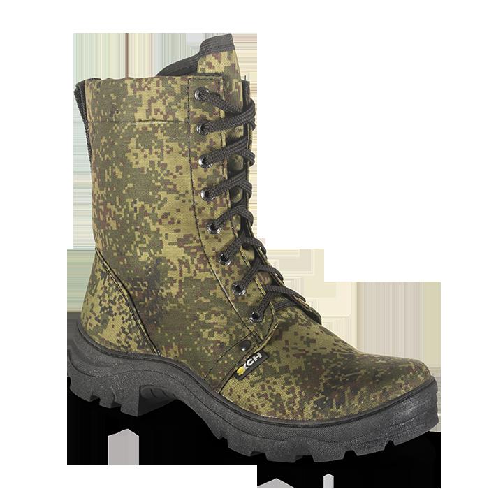 Ботинки ХСН Турист (камуфляж/камбрель) (41) 511-1 (72428)Ботинки<br>Комфортная температура эксплуатации:    от +10°С до +25°С<br>Основной материал:    Спецткань Oxford с водоотталкивающей пропиткой<br>Подошва:    Термоэластопласт Conan - износостойкая<br><br>Отличительные особенности: <br>- обувь выполнена из водоотталкивающей ткан...<br>