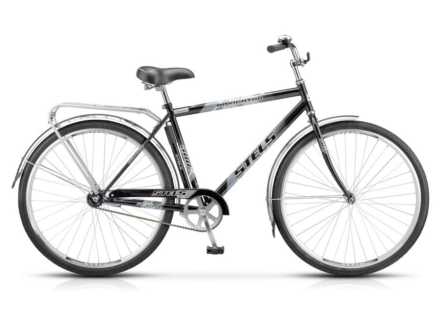 Велосипед Stels Navigator-300 Gent 28 15Велосипеды Stels<br>STELS Navigator 300 Gent 28 (2015) - дорожный, транспортный велосипед с багажником и полноразмерными крыльями, колеса 28 дюймов.<br>
