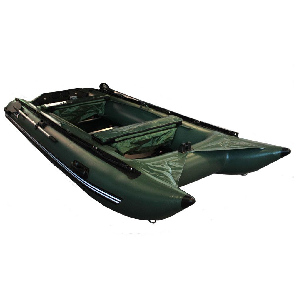 Лодка HDX Надувная (Катамаран), Модель Argon-2 380, цвет зеленыйКатамараны, плоты<br>Надувная лодка. Лодка имеет ряд преимуществ перед другими лодками подобной конструкции.<br>