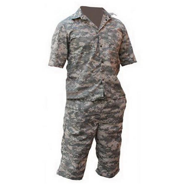Комплект Алом-Дар Шорты+Рубашка (серая цифра)