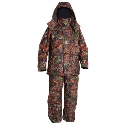 Костюм зимний Norfin EXTREME2 CAMO 03 р.L (44031)Костюмы/комбинезоны<br>Тёплый костюм сшит из бесшумной ткани и дополнен множеством карманов.<br>