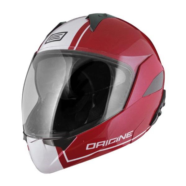 Шлем Origine (модуляр) Solid Riviera Dandy красный/белый глянцевый L (81645)Шлемы и маски<br>Самый модный и продвинутый шлем в коллекции Origine. Имеет большой визор для хорошей видимости.<br>