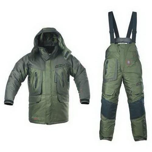 Костюм Graff зимний рыболовный (братекс, оливковый) 612/712-O-B/XL (68716)Костюмы/комбинезоны<br>Тёплый и прочный костюм для самых экстремальных условий.<br>