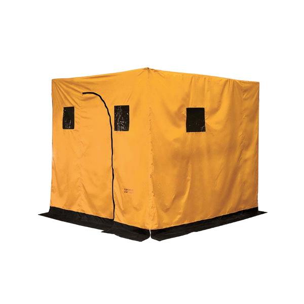 Палатка NovaTour баня походная N (Желтый, )Палатки<br>Палатка – баня отличного качества. Устанавливается в любом месте за считанное время. Баня не требует специальных приспособлений для установки.<br>
