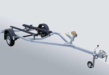 Автоприцеп МЗСА для катеров и лодок 81771D.001Перевозка катеров, лодок и гидроциклов<br>Автомобильный прицеп для перевозки лодок или катеров.<br>