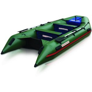 Надувная лодка Nissamaran Tornado 380 (цвет зеленый)