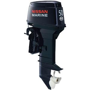 Лодочный мотор Nissan Marine NSD 50 B EPTO2Подвесные моторы<br>Двухтактный трехцилиндровый лодочный мотор мощностью 50 л.с. с технологией прямого впрыска топлива TLDI.<br>