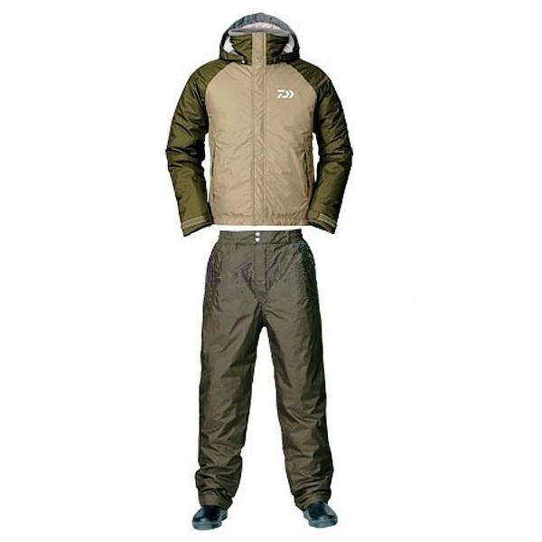 Костюм зимний Daiwa RainMax HI-Loft оливковый XXL (68031)Костюмы/комбинзоны<br>Универсальный костюм для рыбалки и активного отдыха DW-3503 выполнен из современного материала RAINMAX® от фирмы Daiwa . Данный материал обеспечит комфортное пребывание на природе при сильном ветре, дожде или отрицательной температуре за счёт дышащих свой...<br>