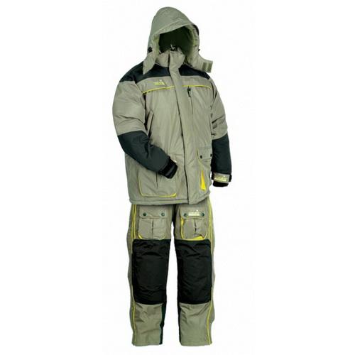 Костюм зимний Norfin пух. POLAR 04 р.XL (41558)Костюмы/комбинзоны<br>Качественный и прочный костюм утеплён натуральным пухом для комфортной рыбалки в самых суровых условиях.<br>