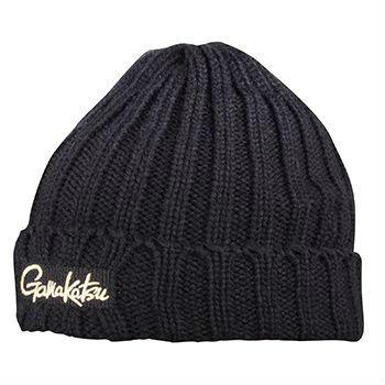 Шапка Gamakatsu Knit CapШапки/шарфы<br>Теплая шапка с фирменным логотипом на лицевой части. Превосходно защитит голову от холода и ветра в зимнюю стужу.<br>