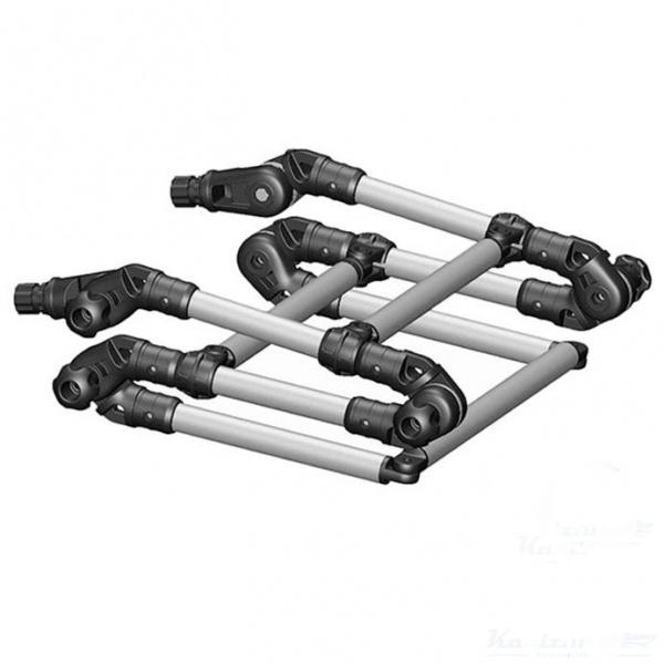 Лестница Fasten складная из алюминиевой трубы #0.32 (95733)Аксессуары для надувных лодок<br>Быстросъемная трехсекционная складная лестница Fasten для лодок. Три ступени, опорами являются два универсальных замка. Компактна в сложенном состоянии. Конструкция имеет поворотные сочленения, что позволяет повторить форму надувного борта и сложить лестн...<br>