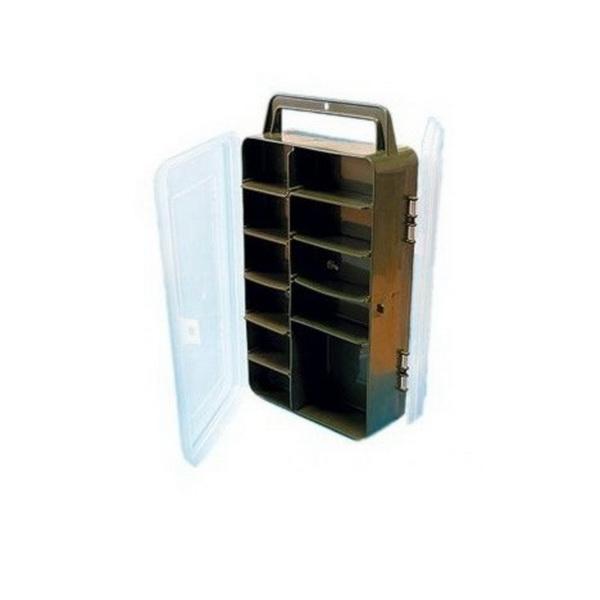 Коробка Salmo рыболов. пласт. 82 двухстор.