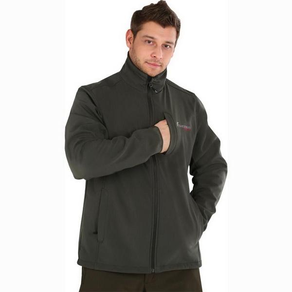 Куртка NovaTour софтшелл Грейлинг S, Хаки (63355)