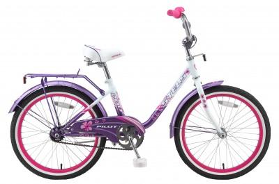 Велосипед Stels Pilot-200 lady 20.15Велосипеды Stels<br>Детский велосипед с колесами 18. Руль и седение у велосипеда регулируются под рост ребенка, благодаря чему велосипед прослужит не один сезон. Велосипед дополнительно оборудован защитой цепи от внезапного контакта ног ребенка с цепью и звонком. Торможение...<br>