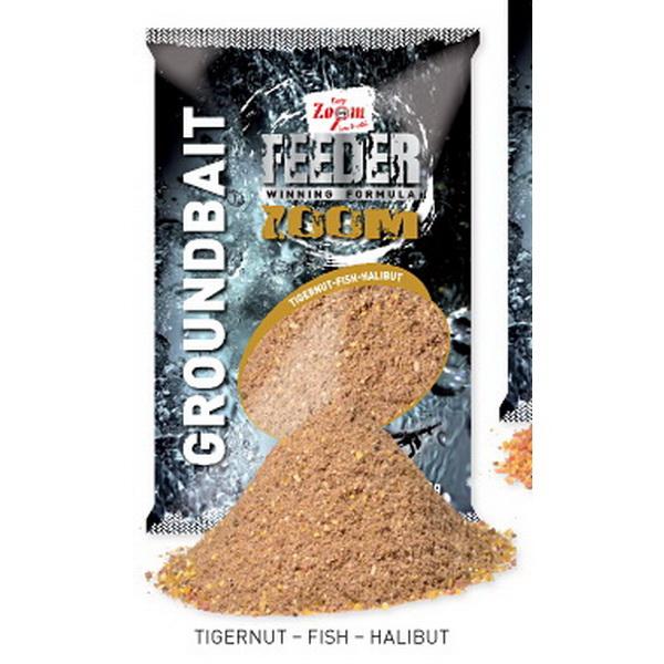 Прикормка Carp Zoom Feeder Zoom Groundbait, 1kg, tigernut-fish-halibut CZ8877Прикормки<br>Инновационная прикормочная смесь. Для ее производства использована уникальная рецептура и натуральные элементы.<br>