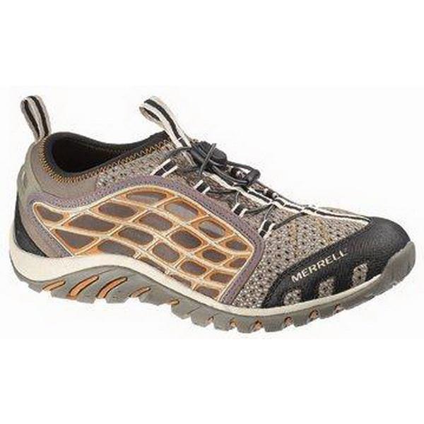Полуботинки Merrell мужские Waterpro Surge men`s shoes Brindle р.9HМокасины и полуботинки<br>Модель из натуральной кожи с перфорированными деталями для дополнительной вентиляции<br>