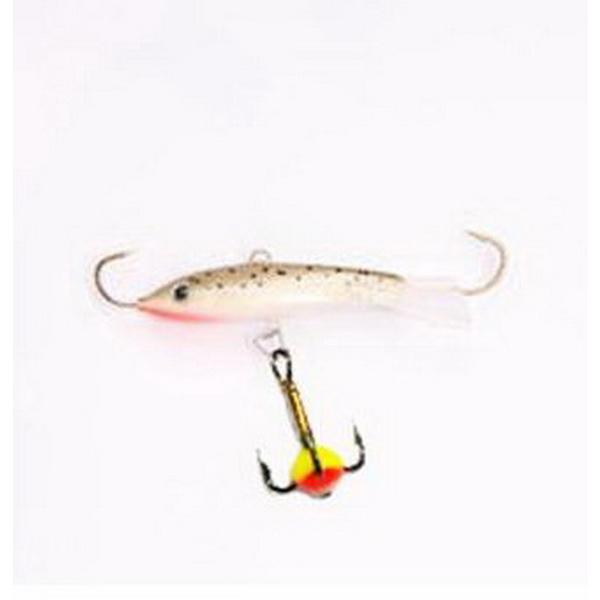 Балансир Lucky John Soft Tail 2,5  + тр. 10 81211-10 (56646)Балансиры<br>Балансир применяется для рыбной ловли на глубинах до 3 метров. Она способствует более эффективным поклевкам.<br>