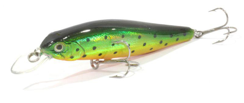 Воблер Trout Pro Lucky Minnow 60F / 02 (35673)Воблеры<br>Классический минноу воблер для ловли щуки на мелководье. Обладает прекрасной игрой как при равномерной проводке, так и при рывковой твичинговой.<br>