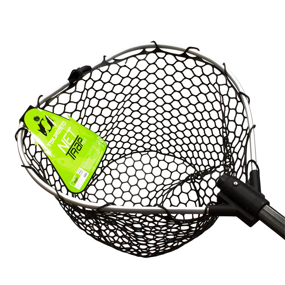 Подсачек tsuribito net trap fold длина 150см диам. 46см
