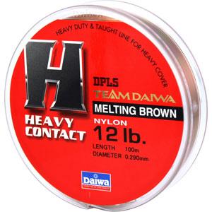 Леска Team Daiwa Line Heavy Contact 12Lb (7324)Монофильные лески<br>Оптимальный баланс низкой растяжимости и высокой чувствительности<br>