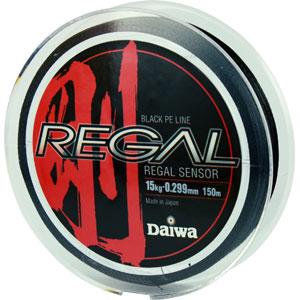 Леска Daiwa Regal Sensor 15-150 (19053)Плетеные шнуры<br>Плетеный шнур с большим запасом прочности, и максимально круглым сечением.<br>