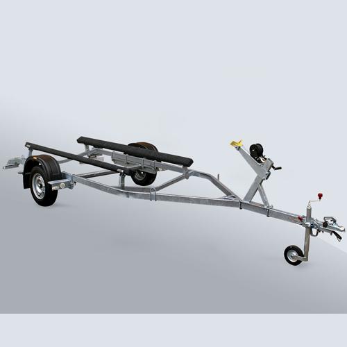 Автоприцеп МЗСА для катеров и лодок 81771Е.004-05Перевозка катеров, лодок и гидроциклов<br>Автомобильный прицеп для лодок и небольших катеров.<br>